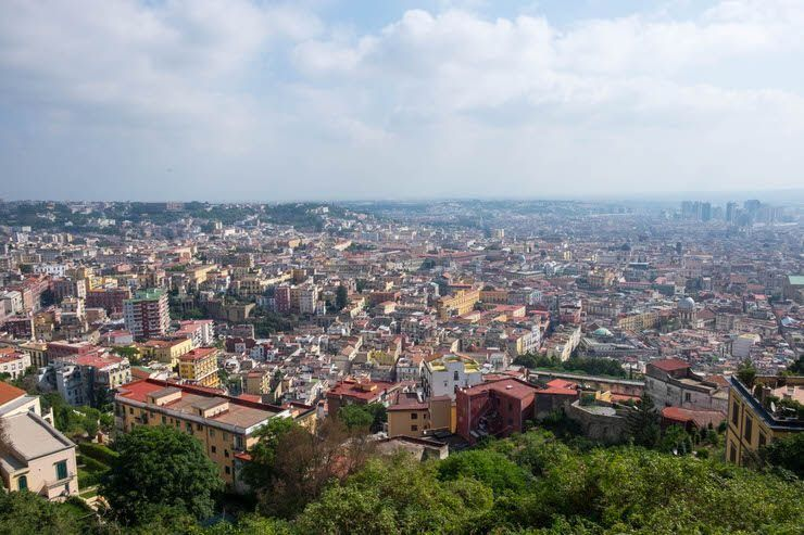 Nápoles desde Vomero