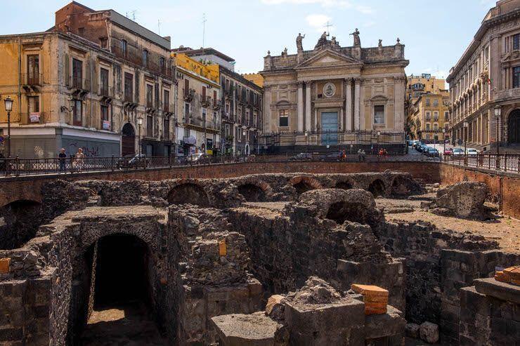 Anfiteatro Romano de Catania