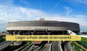Cómo ir a París desde el aeropuerto