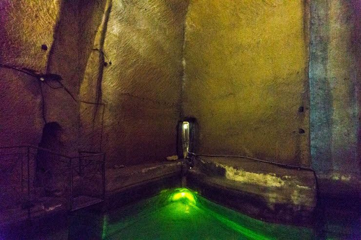 las cisternas de Nápoles Subterráneo