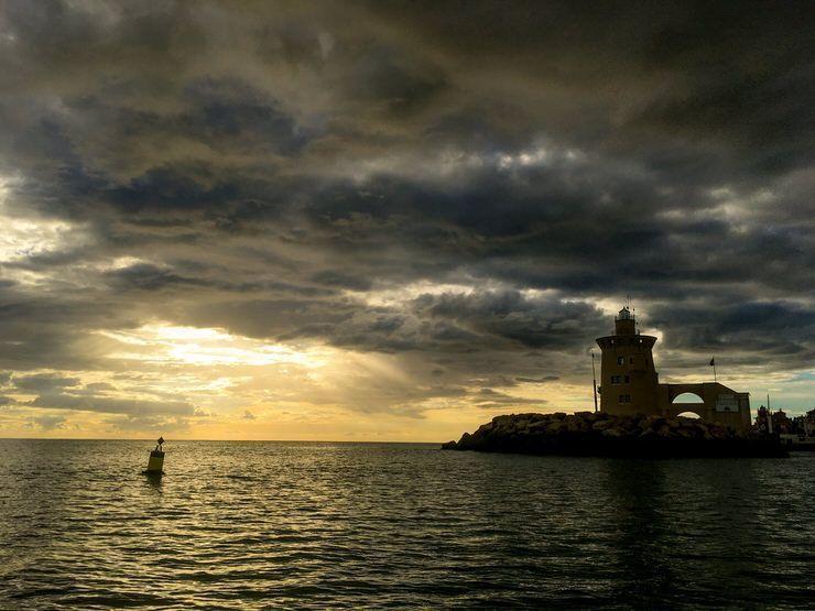 Atardecer en Puerto Sherry