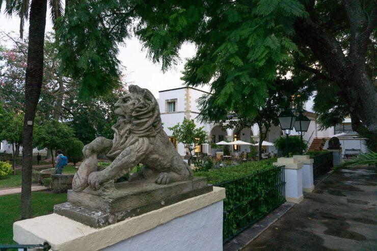 Jardines del Hotel Duques de Medinaceli