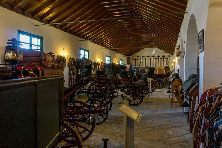 Museo de Carruajes de la Hacienda Guzmán