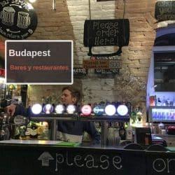 Bares y Restaurantes de Budapest