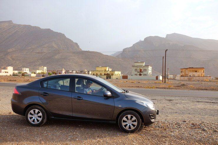 coche alquiler Omán