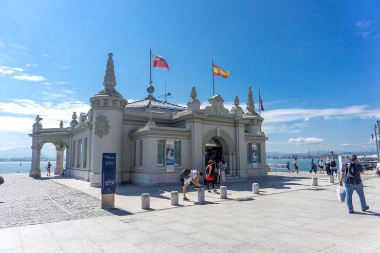 visitar el Palacete del Embarcadero