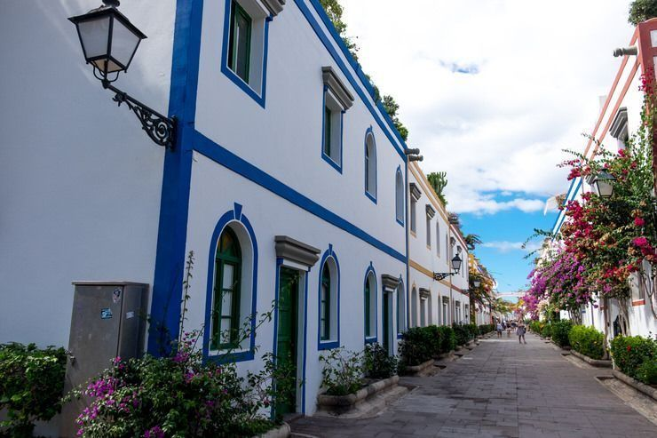 Calles típicas de Puerto Mogán