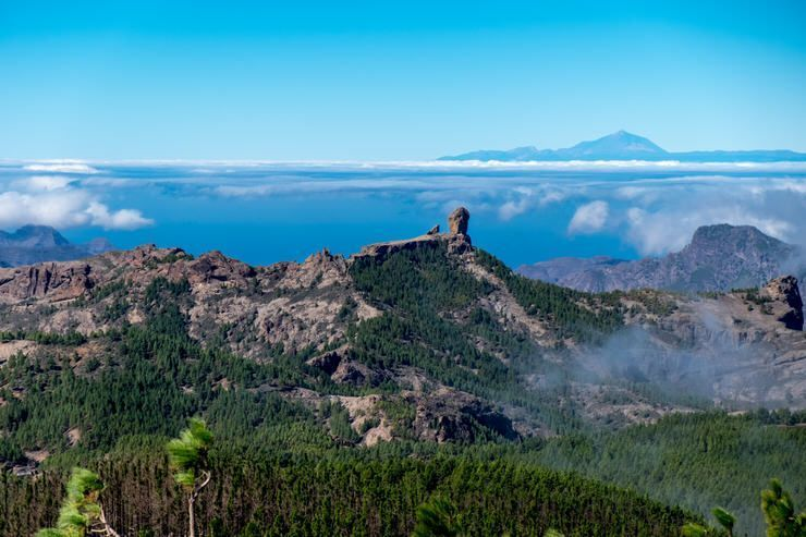 Pico de las Nieves en Gran Canaria en cuatro días
