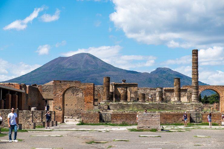 Como llegar a Pompeya