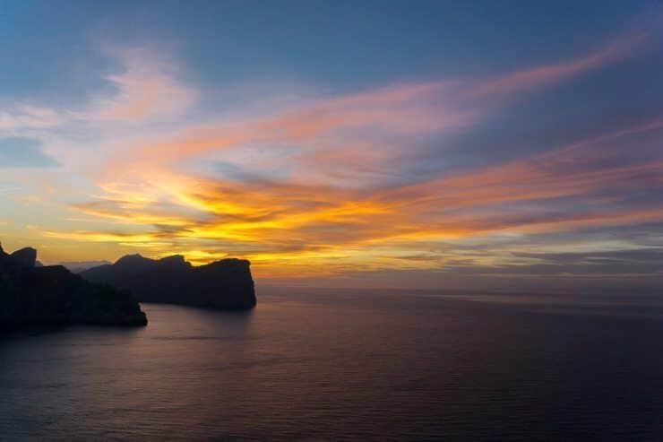 Atardecer desde el Faro de Formentor
