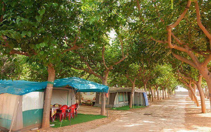 Camping en Peñíscola