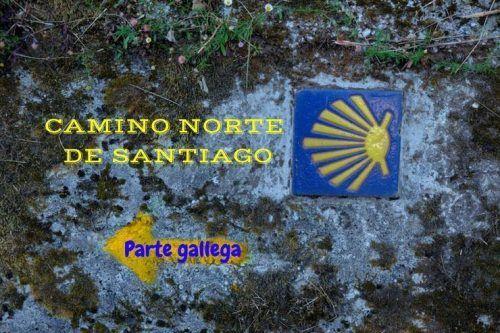 La parte gallega del Camino Norte de Santiago. Etapas y nuestro presupuesto