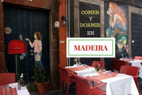 comer dormir Madeira