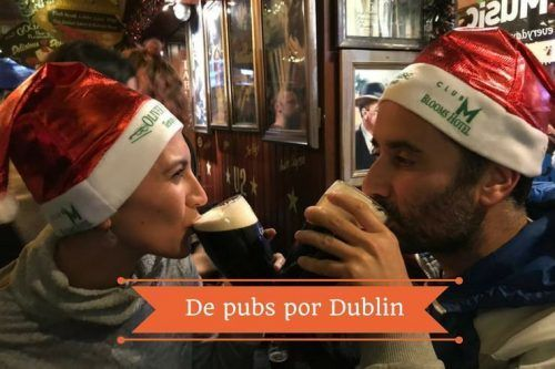 De pinta en pinta por los pubs de Dublín