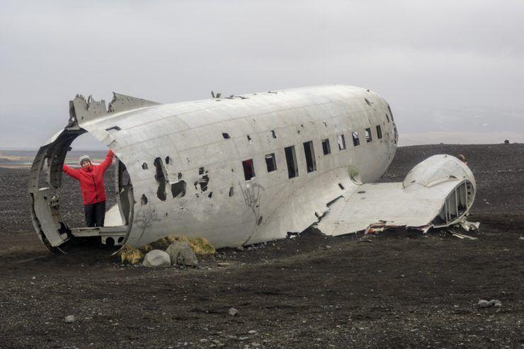 avión Islandia
