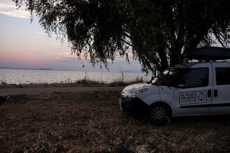 dormir en el Lago Trasimeno
