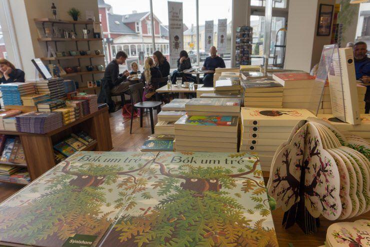 libreria de Akureyri