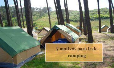 Motivos para ir de Camping
