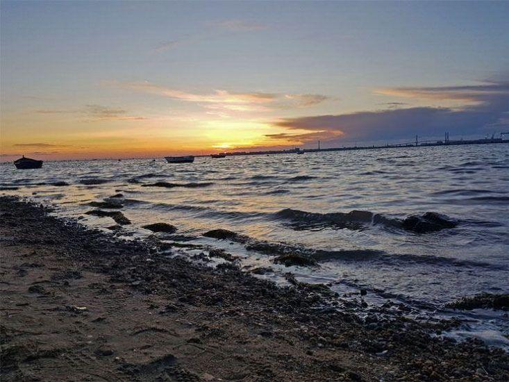 puesta de sol Cádiz