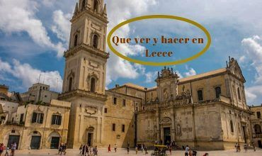que ver en Lecce
