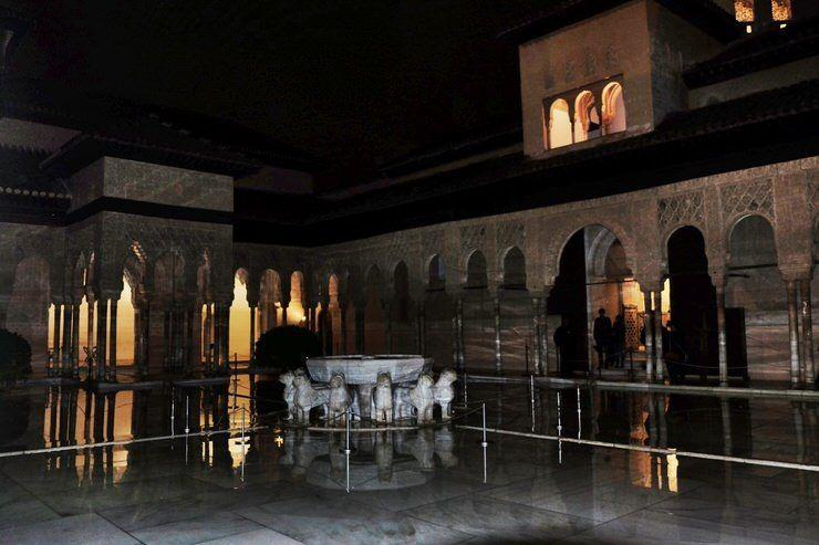 entradas alhambra nocturna