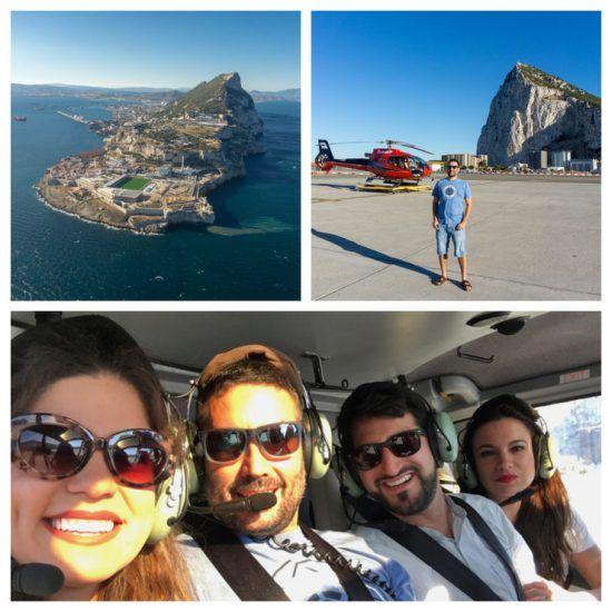 helicóptero Gibraltar