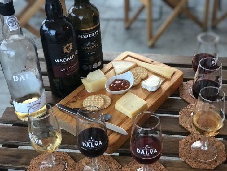 Cata de vino de Oporto