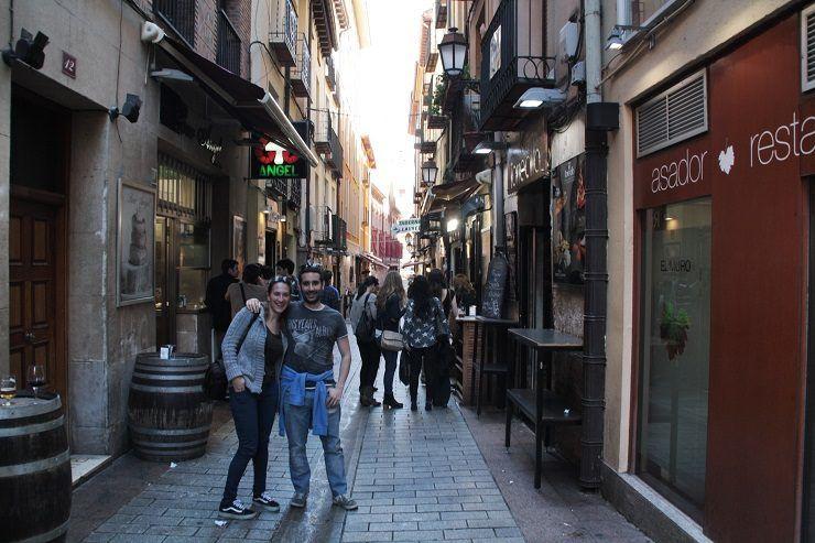 tapear en Logroño