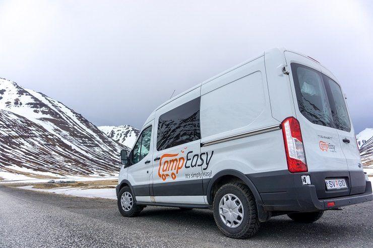 alquilar una camper en Islandia