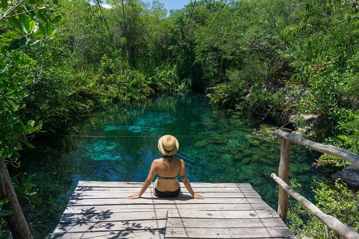 cenotes riviera maya