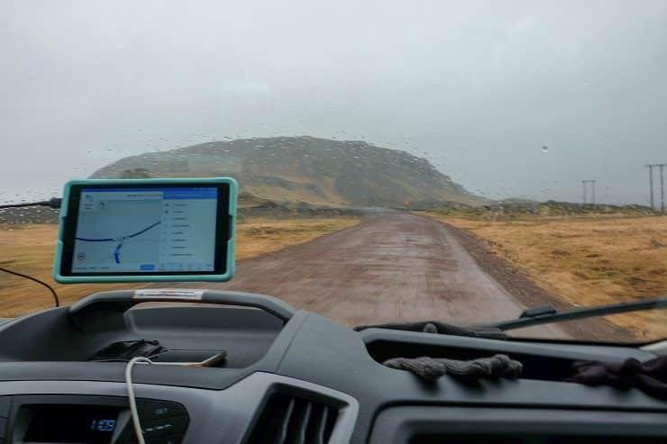 motorhome Islandia