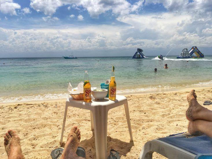 Club de playa en Cozumel