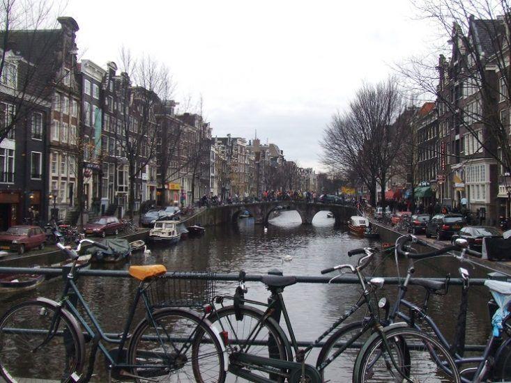 pasear por Amsterdam