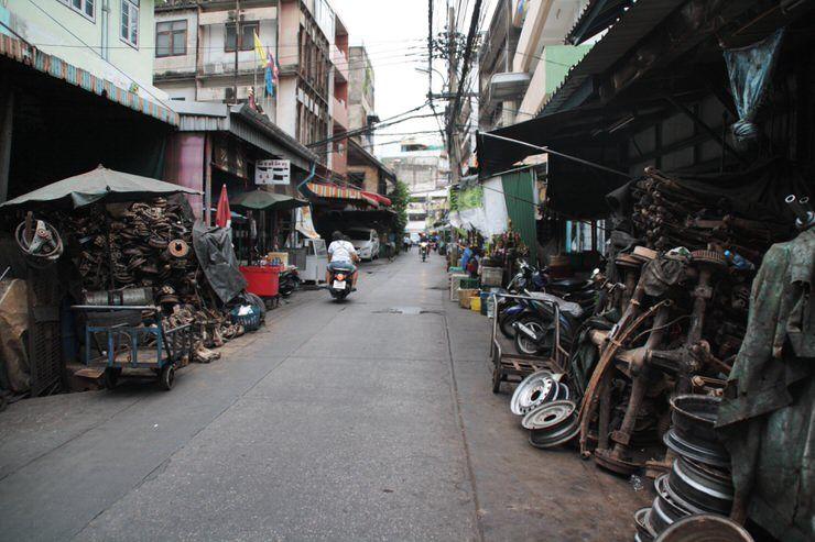 taller en Tailandia