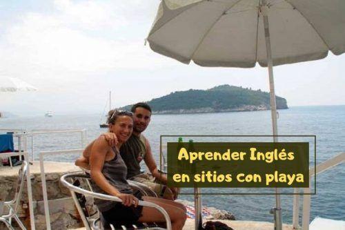 Inglés en sitios con playa