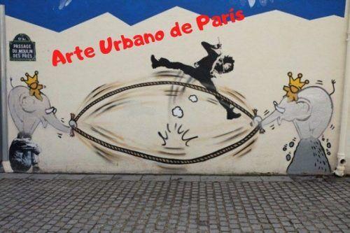 grafitis París