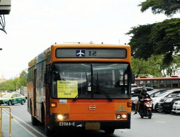 Autobús al aeropuerto de Bangkok