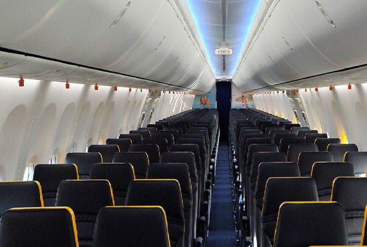 Un vuelo de Ryanair