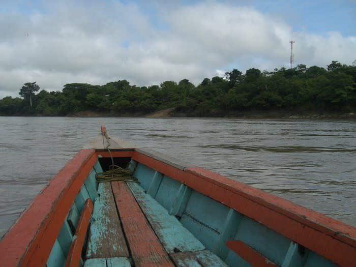Frontera Corozal en Guatemala
