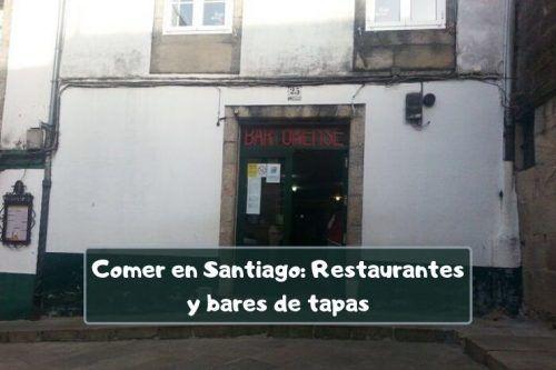 Bares baratos por Santiago de Compostela