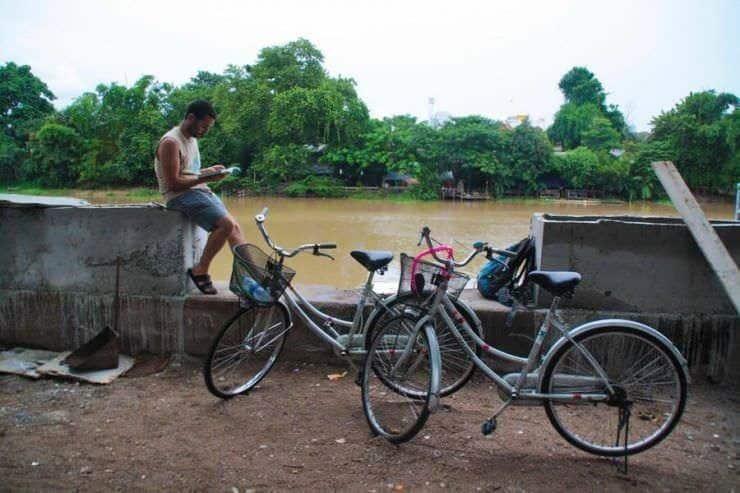 Chiang Mai en bici