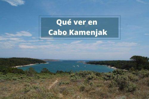 El Cabo Kamenjak en la península de Istria hasta el Safari bar