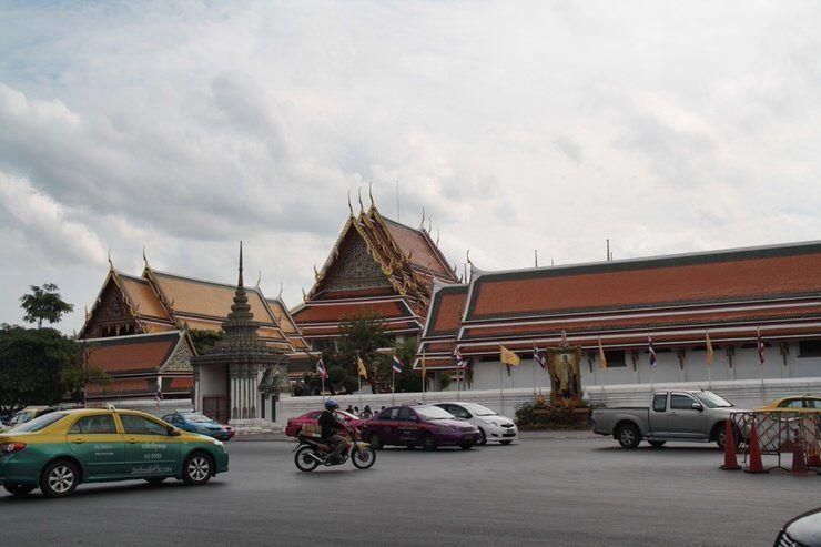 el transporte en Bangkok