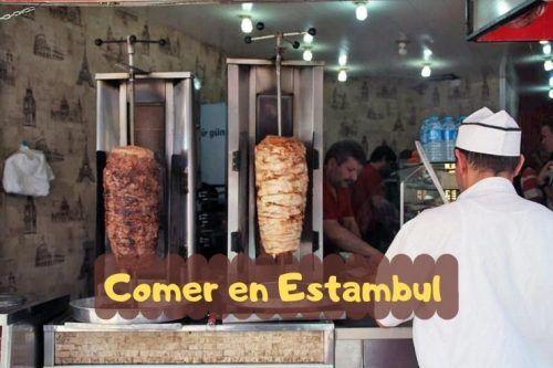 Comer en Estambul comida Turca