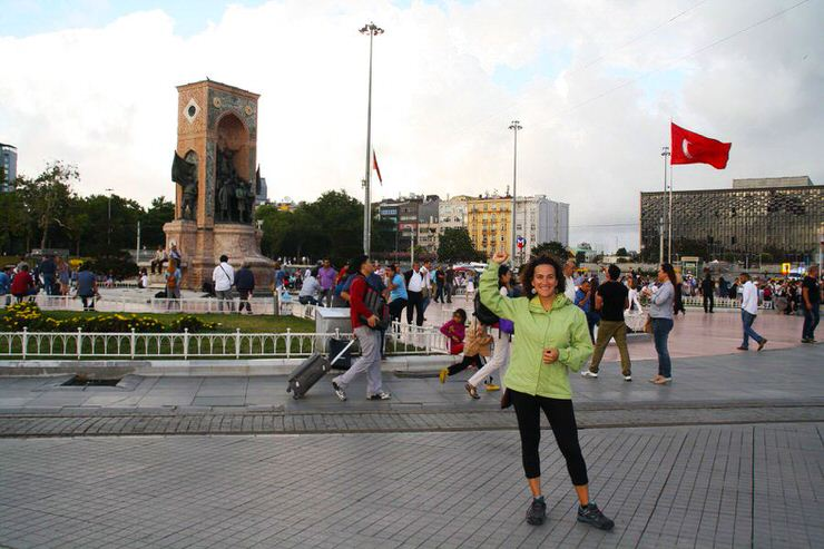 Plaza Taksim en Estambul