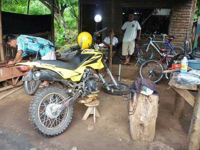 Alquilar moto en Ometepe