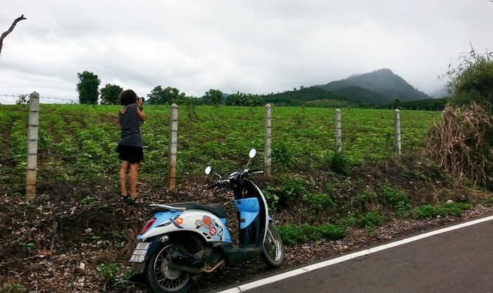alquilar una moto en Pai