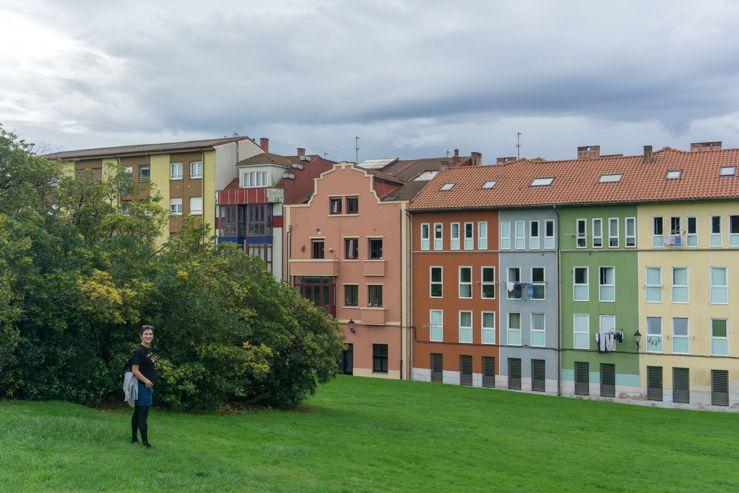 Casas de colores Gijón