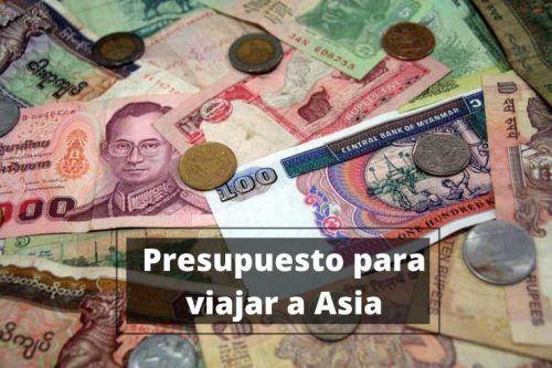 Presupuesto para viajar a Asia