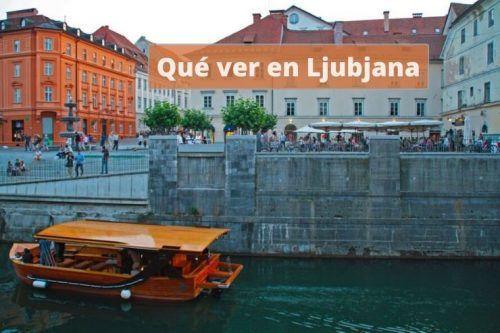 Ljubljana en una tarde de verano